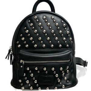 Pull&Bear Silver Studded Backpack